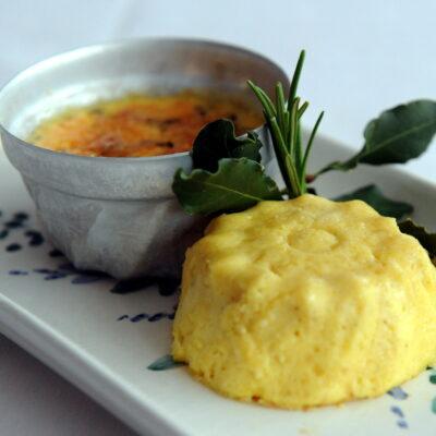 La tartrà, un soffice budino salato del Monferrato