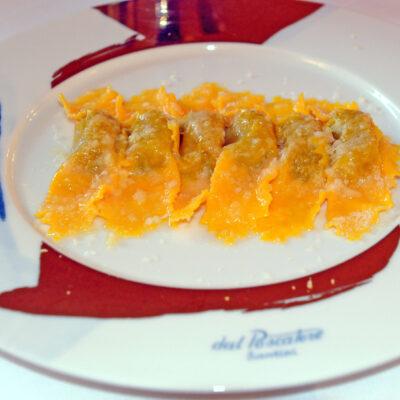 I tortelli di zucca e amaretti