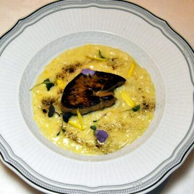 Risotto Acquerello con Vermouth di Prato