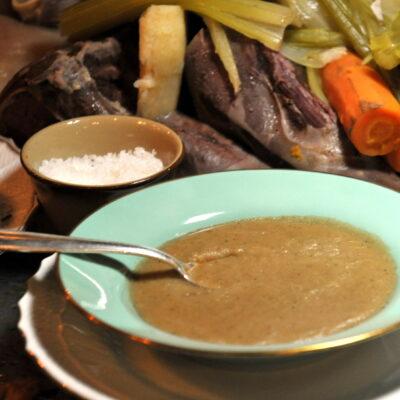 """La salsa """"pearà"""" della tradizione veronese"""