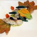 Pesce del Garda in crosta di pane chapaty