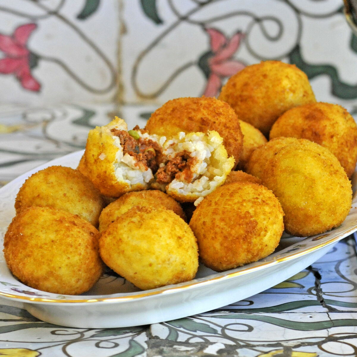 L'arancina al ragù come si fa a Palermo
